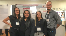 Molloy Biology Students Research Wins First Place