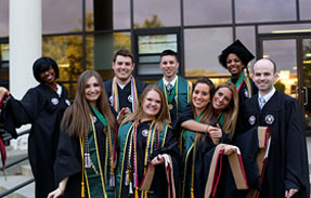 Molloy Business grduate students