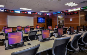 Molloy Business Trading Room