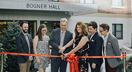 Bogner Hall and McGovern Plaza Immortalized