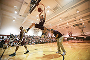 Dunk contest pumps up student body