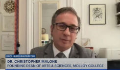 Molloy Dean Christopher Malone Provides Inauguration Commentary