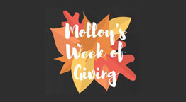 Molloy's Week of Giving