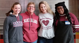 Molloy Students Living the Mission