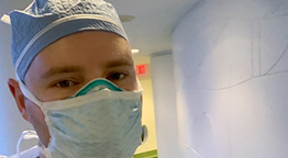 Molloy College Alum Recovers from Covid-19, Returns to Treating Virus Patients