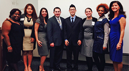 Molloy Business students present research papers at prestigious business conference