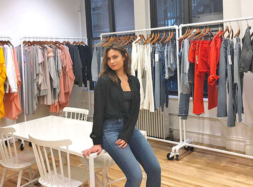 Communications Students Are Regularly Placed In Fashion Internships Cayla Enrolled At Molloy The Spring This Semester She Is Interning Goods And