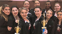 Dance Team Earns Multiple Awards in First-Ever Competition