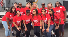 Molloy Students Living the Mission at Annual Hope Day
