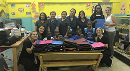 Molloy Students Living the Mission Abroad