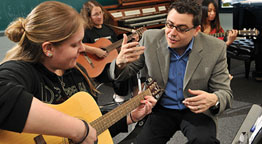 Molloy's Expert Music Therapy Faculty Making a Global Impact