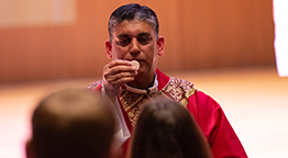 Molloy Welcomes Father Joseph Lobo