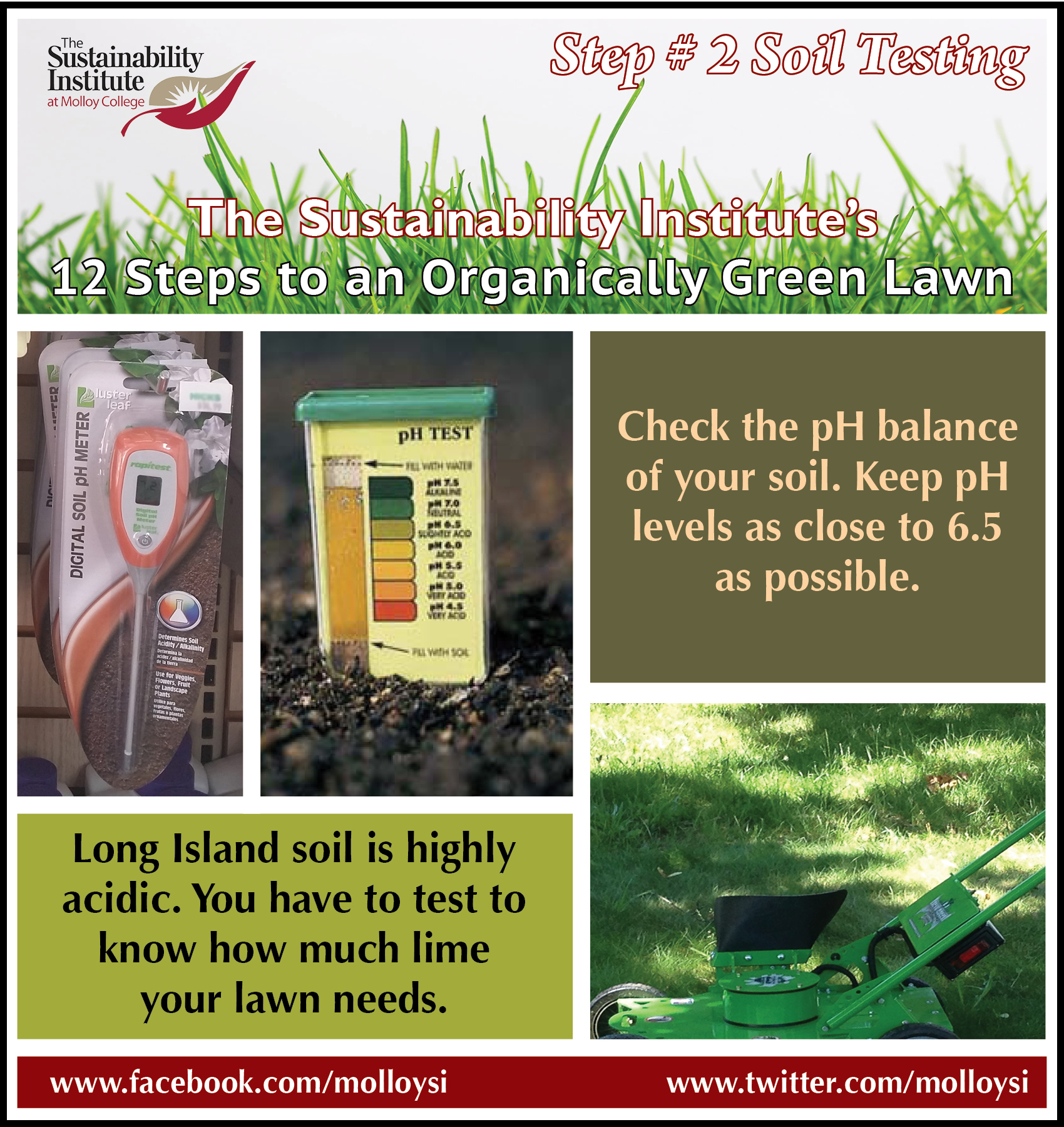 Molloy College: STEP 2 Soil pH Testing
