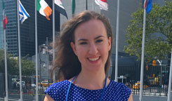 Student named United Nations representative